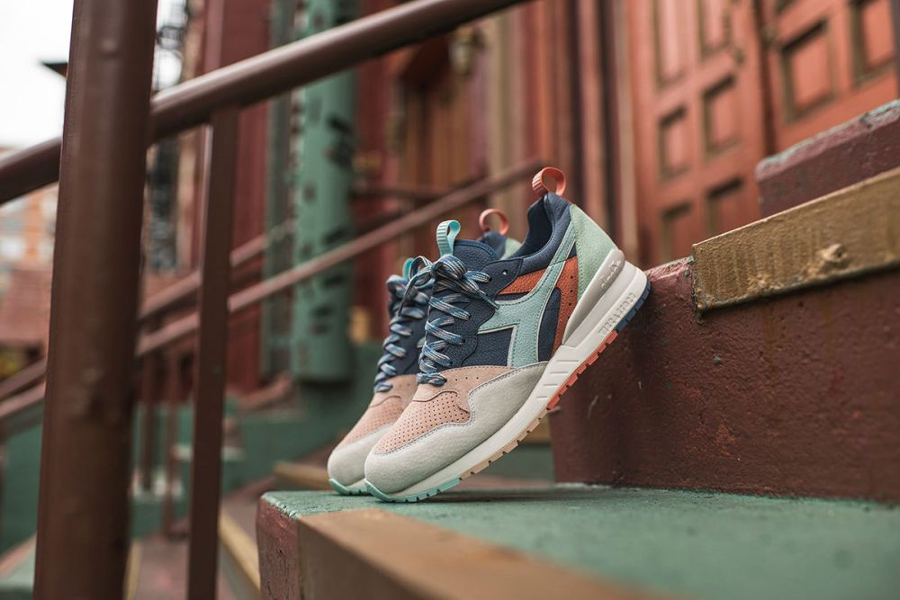 "Ronnie Fieg x Diadora Intrepid ""From Seoul To Rio"""
