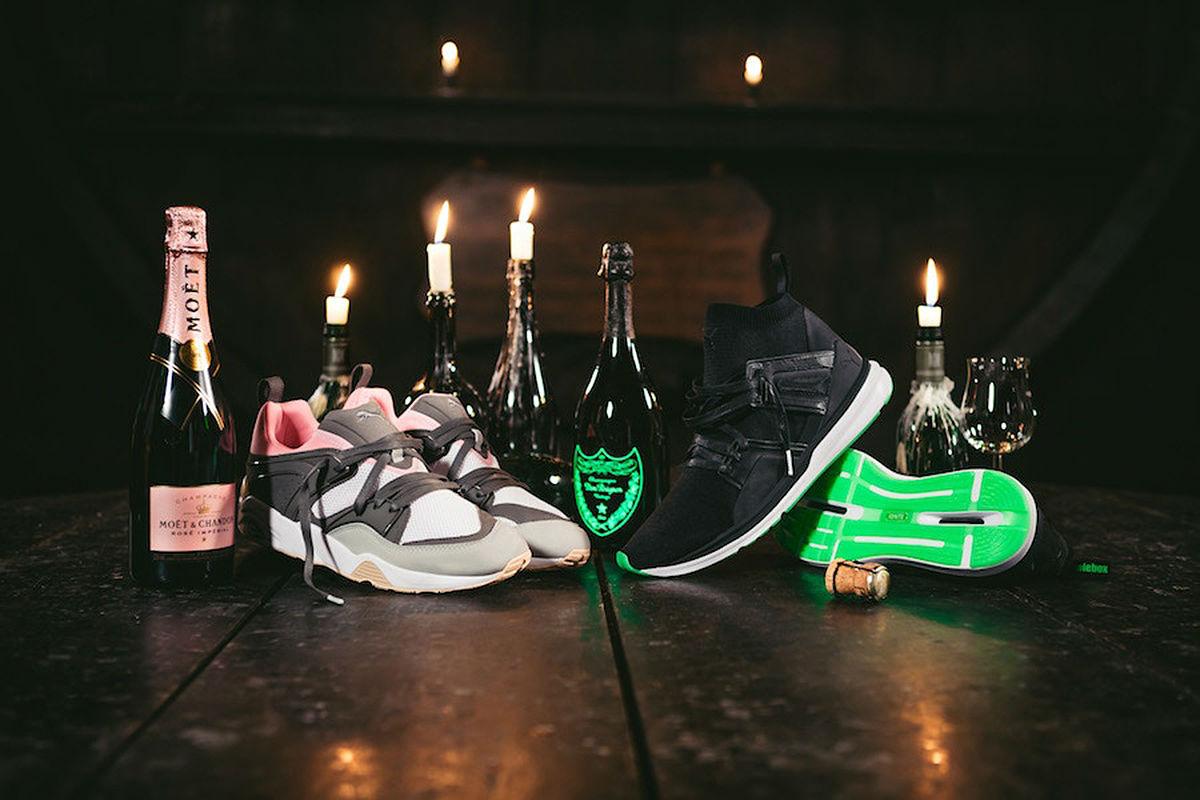 Puma x Solebox champagne pack