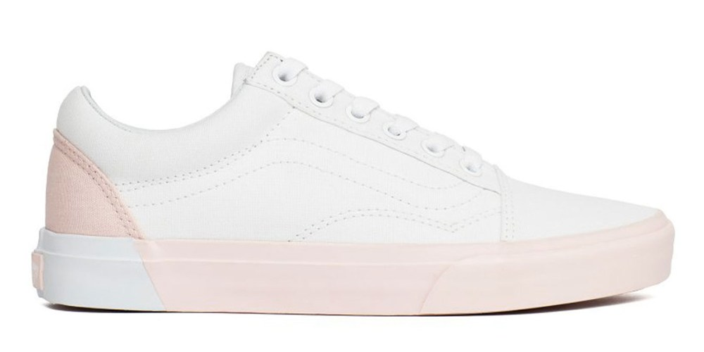 2ed1982dffd1 vans old-skool blocked pearl true white