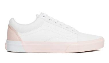 vans old-skool blocked pearl true white