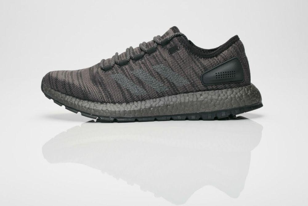 adidas Pure Boost Core Black/Dark Grey