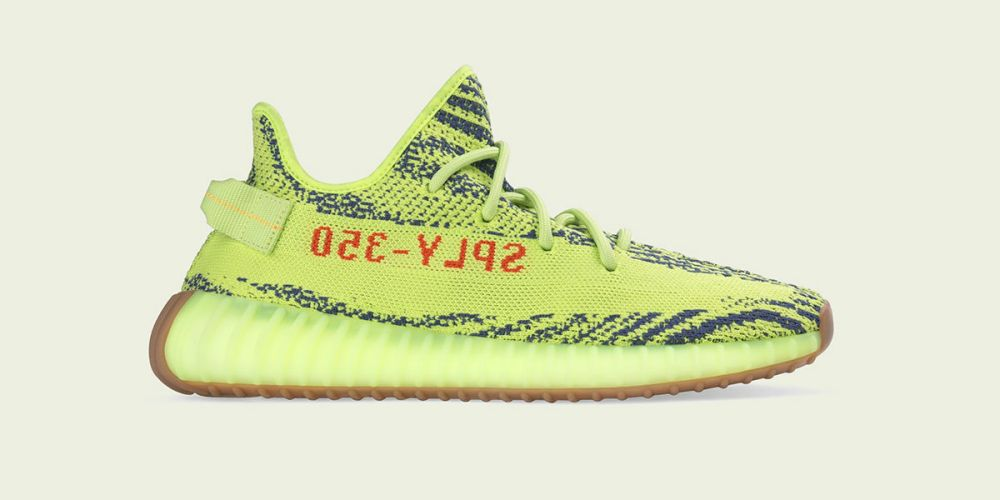 adidas originals yeezy boost-350-v2-semi frozen yellow store list