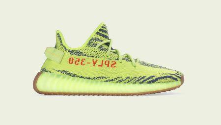 Kanye's Yeezy Boost Frozen Yellow