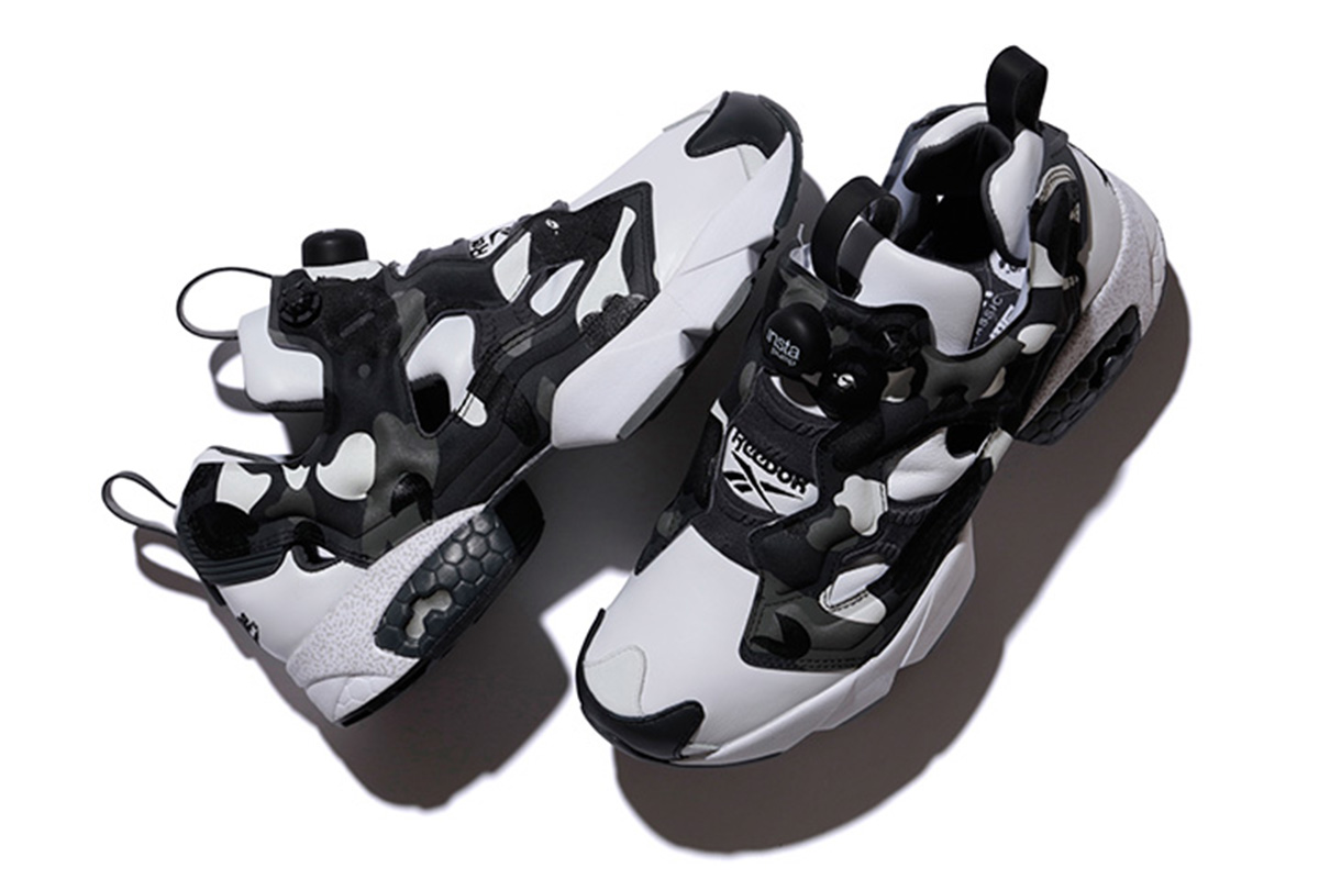 ... Another close-to-perfection iterarion of the Reebok Insta Pump Fury is  done by Black Scale x Reebok Instapump Fury The Bape x mita sneakers ... bf1318439
