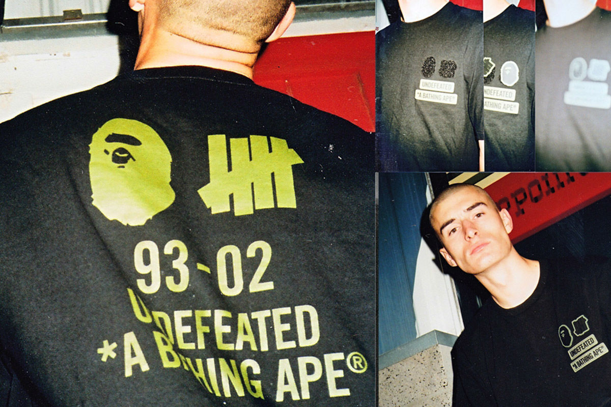 bape x undefeated capsule collection