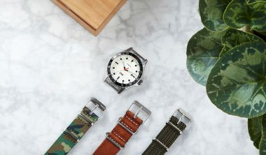 end clothing x timex navy ocean watch time piece project