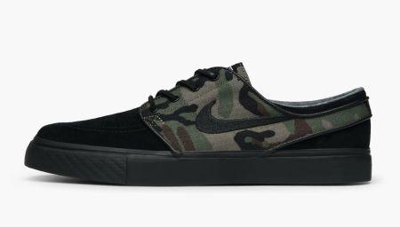 """Camouflage Power: Nike SB Stefan Janoski """"Black Camo"""""""