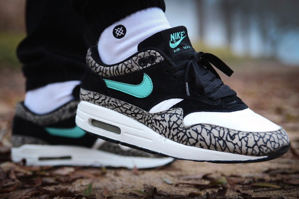 buy online 2edda a430f Let s virtually travel from Europe to Japan, where these Nike Air Max 1  were released and designed side-by-side with atmos. This is one of the best Nike  Air ...