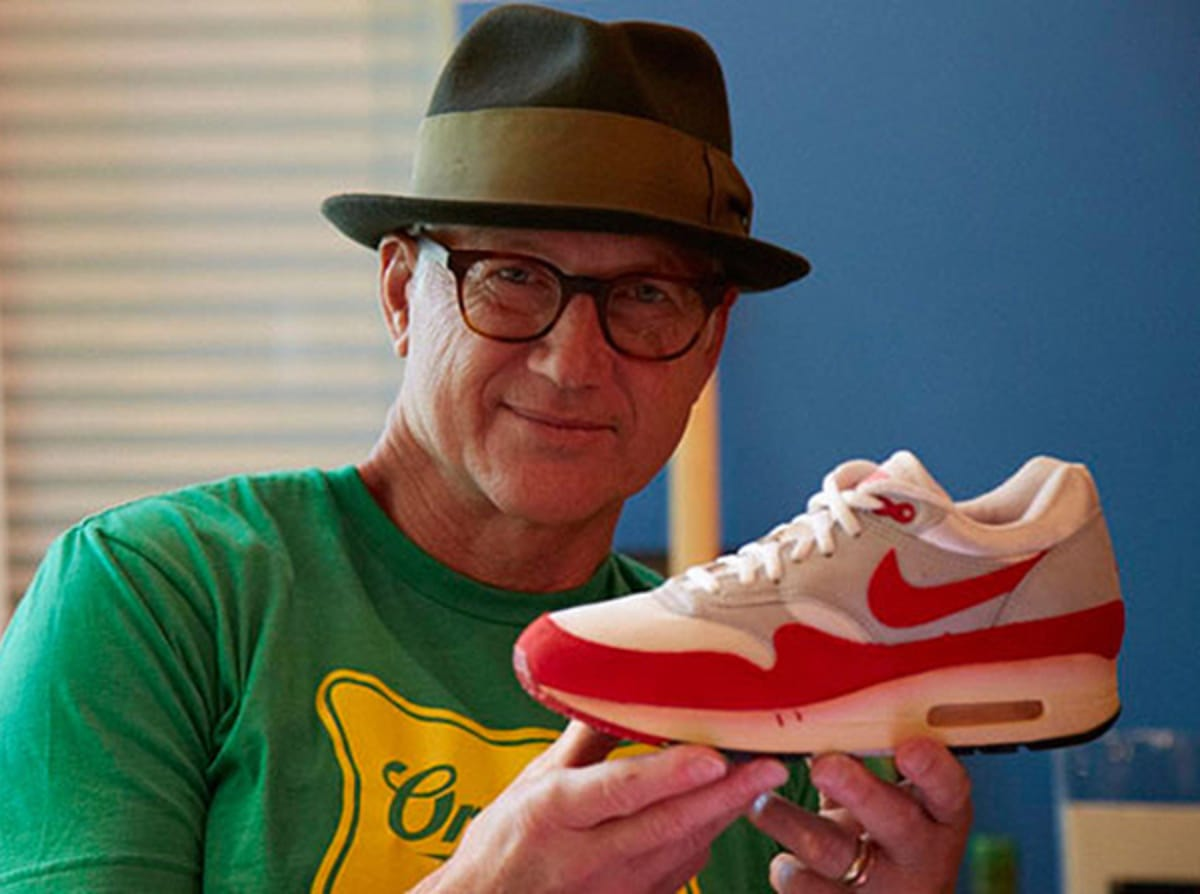 tinker hatfield and the nike air max 1 og