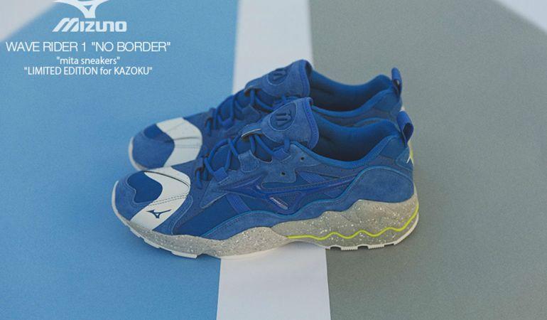 "Mizuno x mita Sneakers ""No Border"""