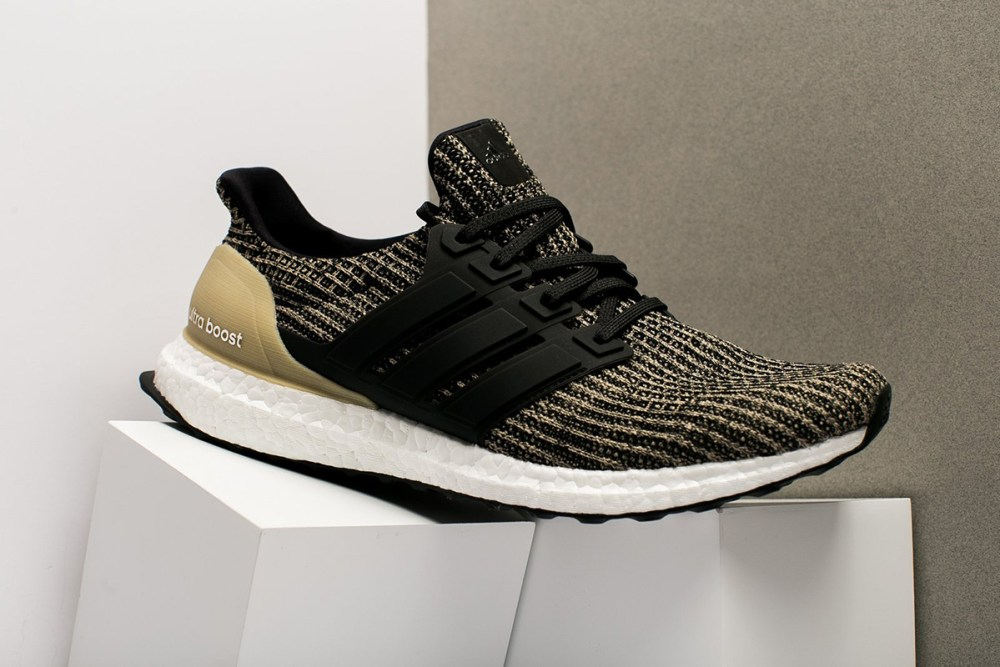 "f9cb6d91603 adidas Ultra BOOST 4.0 ""Raw Gold"". Dressed in hues of yellow"