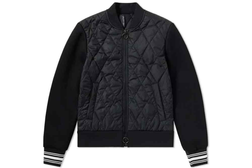 Neil Barrett quilted Varsity Jacket