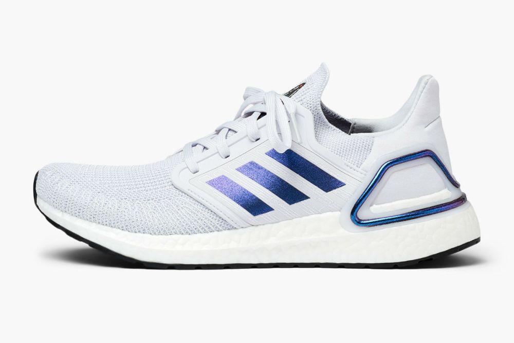adidas performance ultraboost 20 dash grey boost blue violet (eg0695)