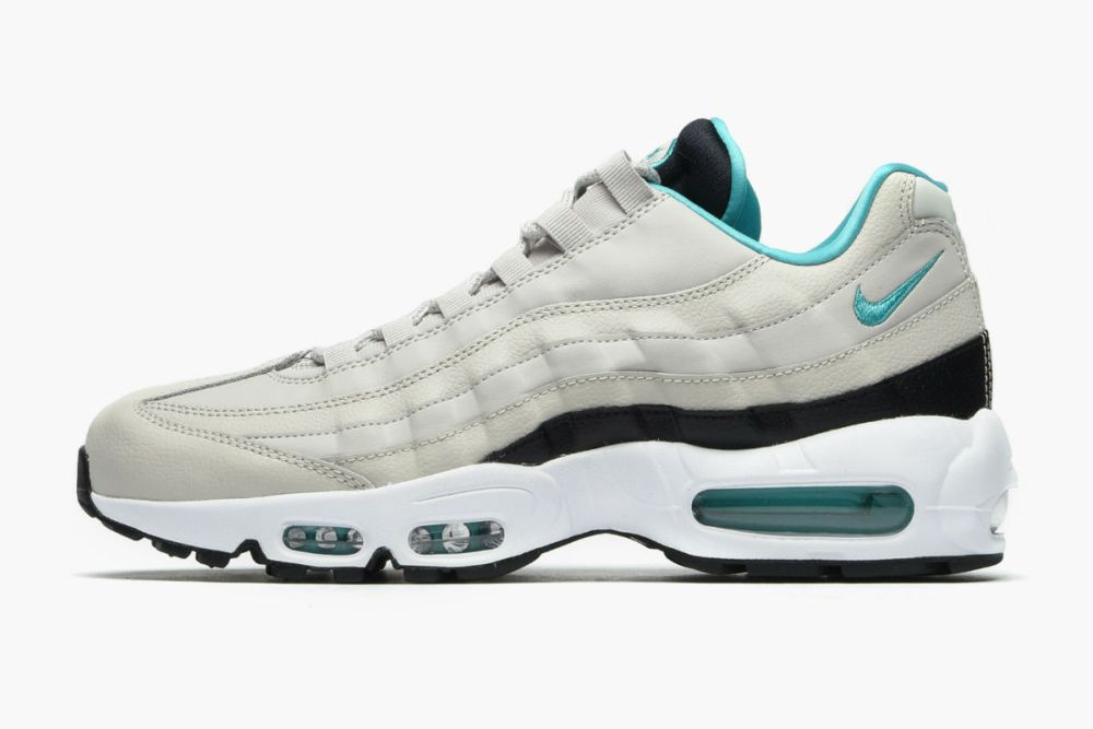 Nike Air Max 95 Essential Light Bone Turquoise
