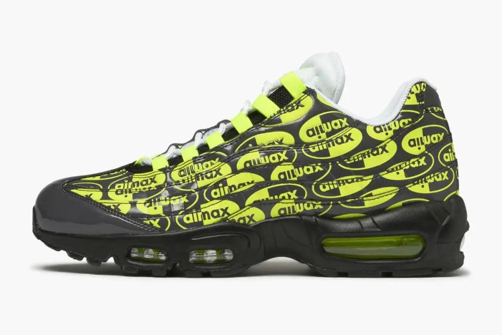 Nike Air Max 95 Premium Black Volt