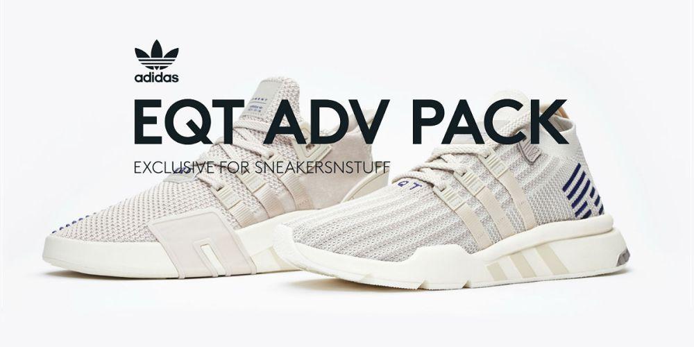 Sneakersnstuff Exclusive adidas Originals EQT ADV Pack