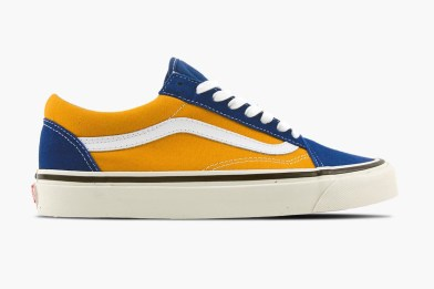 Golden Summer with Vans UA Old Skool 36 DX Anaheim
