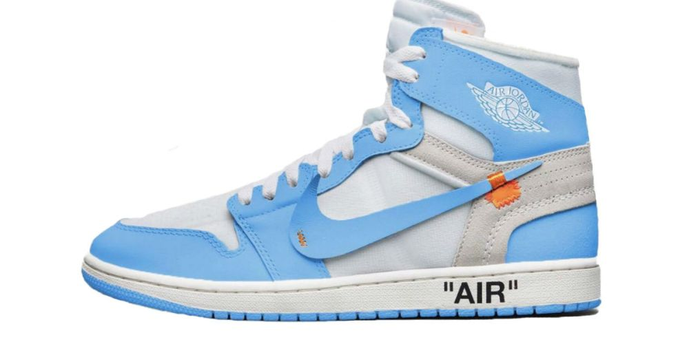 b74e13ef1367ca Off-White x Air Jordan 1 Powder Blue Release Date and Info