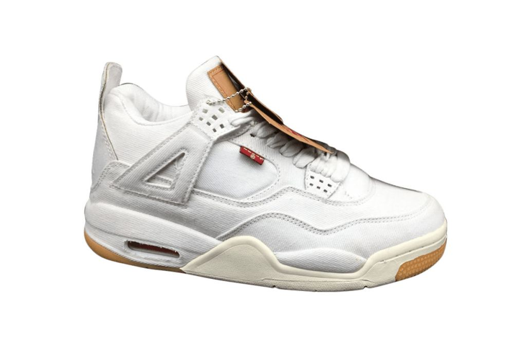 Air Jordan 4 Levi's White Denim