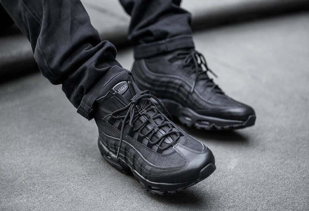 best sneakers 168a5 cde38 The Nike Air Max 95 SneakerBoot is TOUGH | Cult Edge