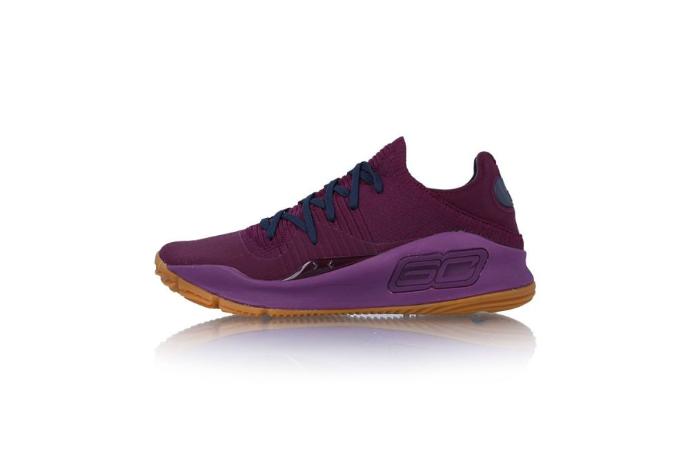 under armour curry 4 low merlot