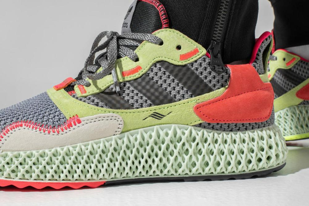 adidas zx 4000 4d yellow crimson