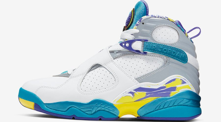 newest 4fbb9 95ea6 Air Jordan 8 WMNS White Aqua Release Date | Cult Edge