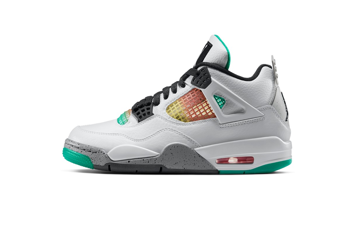 air jordan 4 lucid green