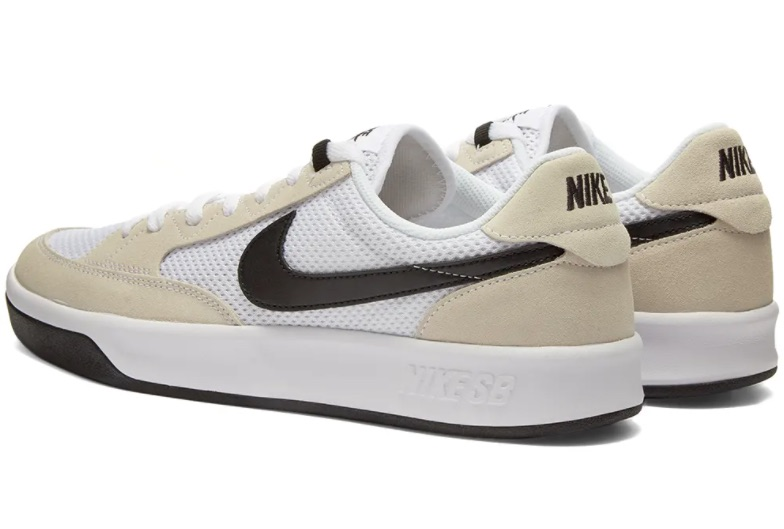 Check Out This Versatile White And Black Colorway Of The Nike SB Adversary
