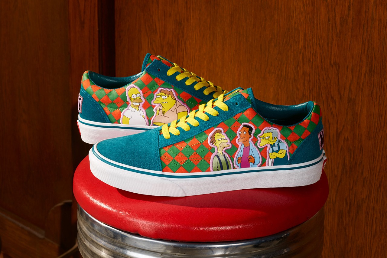 The Simpsons x Vans Collection Is One Of The Best Collaborations Of The Year