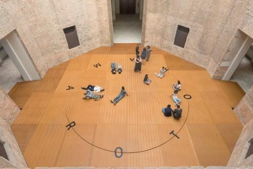 Instalação artística Rotorama, na Pinacoteca de São Paulo
