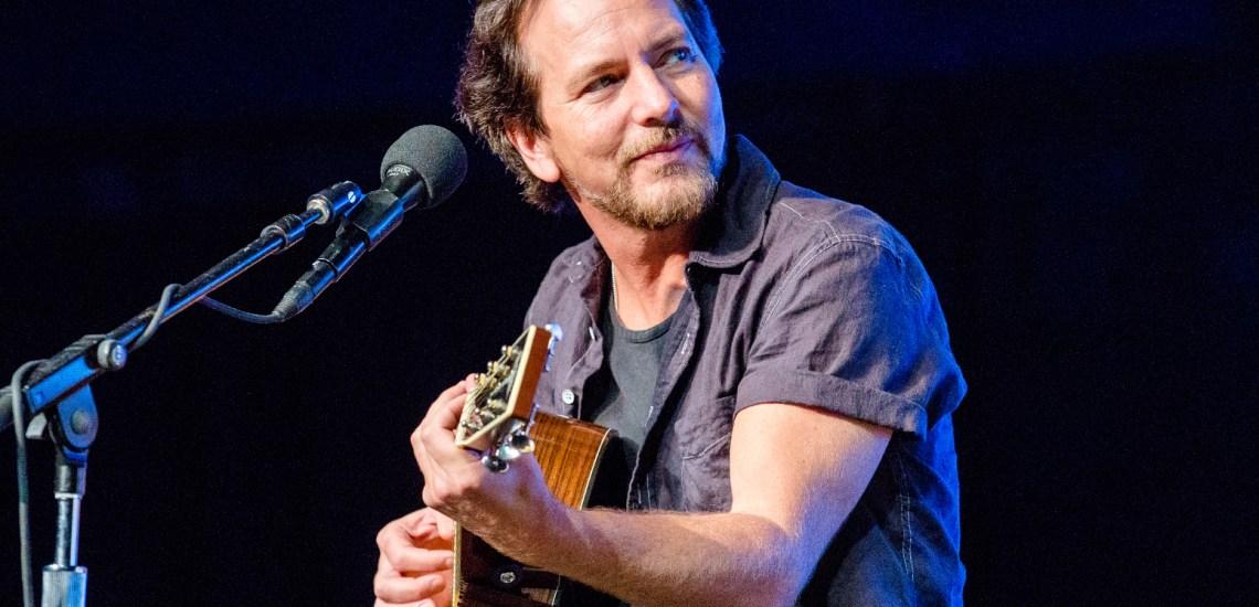 Eddie Vedder no Brasil