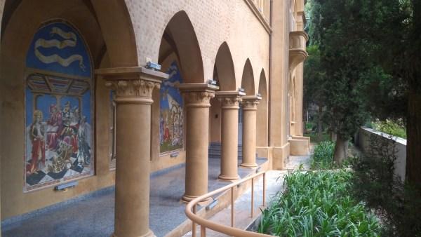 Arcos da capela do Hospital Santa Catarina