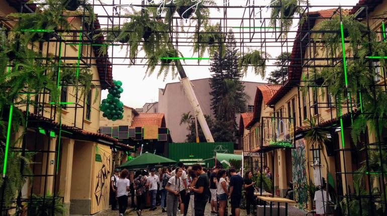 Veja como foi a estreia do Heineken Block