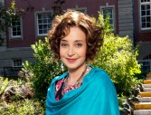 Annie Potts as Dorothy, an eccentric psychic who rents a room to John, a Harvard scholarship student who struggles to balance schoolwork and fatherhood. Photo: Katie Yu/2009 Crown Media