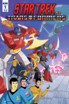 Preview: Star Trek Vs. Transformers #1