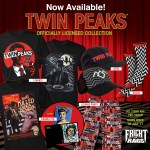 Kick Off the summer with Piranha, Twin Peaks and more horror apparel!