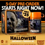 John Carpenter's HALLOWEEN Lunchbox/Thermos Set plus more released by Fright Rags!