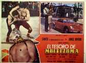 Santo en el tesoro de Moctezuma