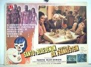 Santo y Blue Demon contra el doctor Frankenstein