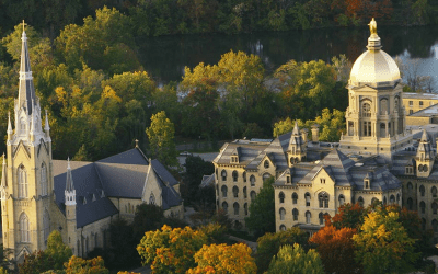 University of Notre Dame's Incredible Generosity Continues – This Time from Their Students!