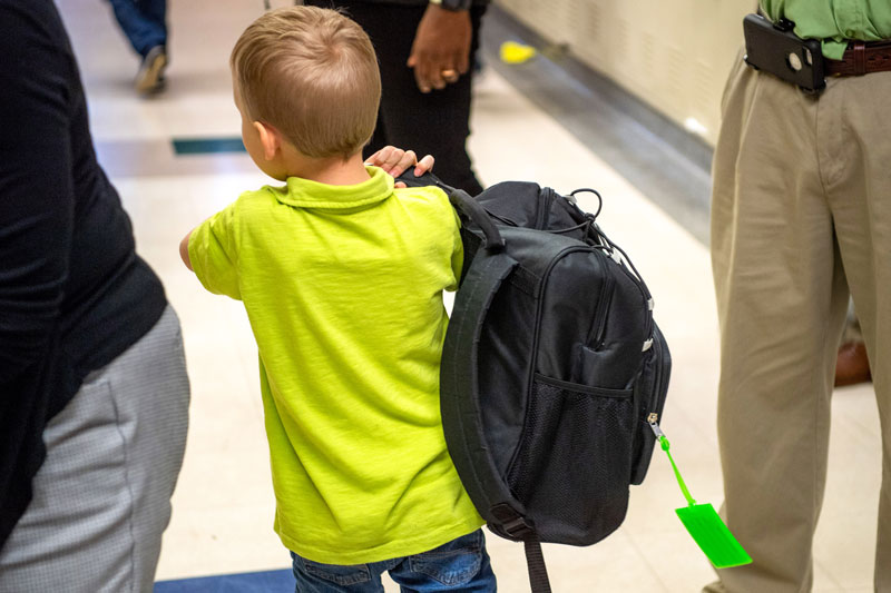 Backpack Program Kicks Off with 400 Children Participating!