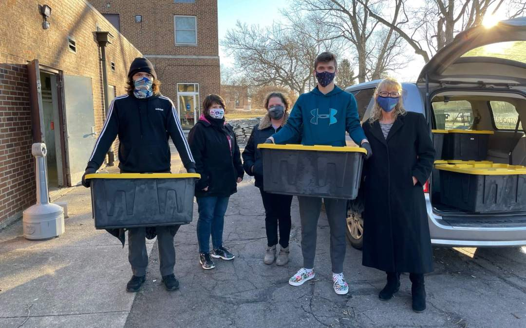 MoonTree Studios and Cultivate Partnership feed PCSC Students