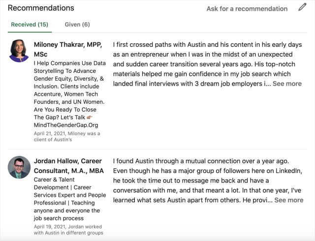 How To Write A Crazy Effective LinkedIn Recommendation (With