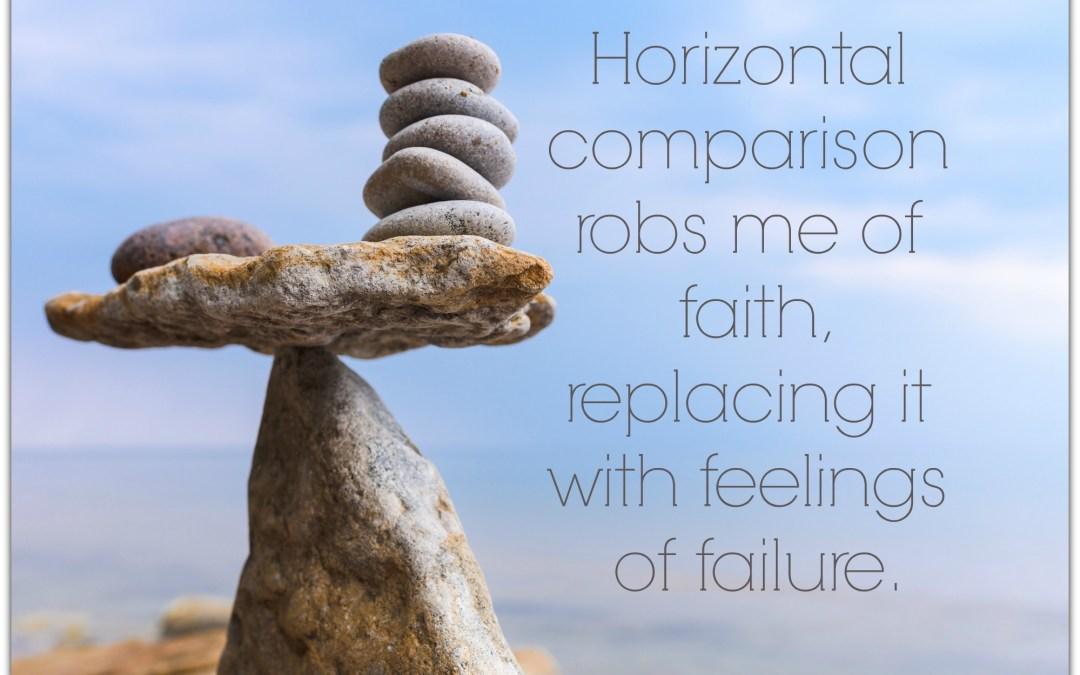 Horizontal Comparison Kills Grace