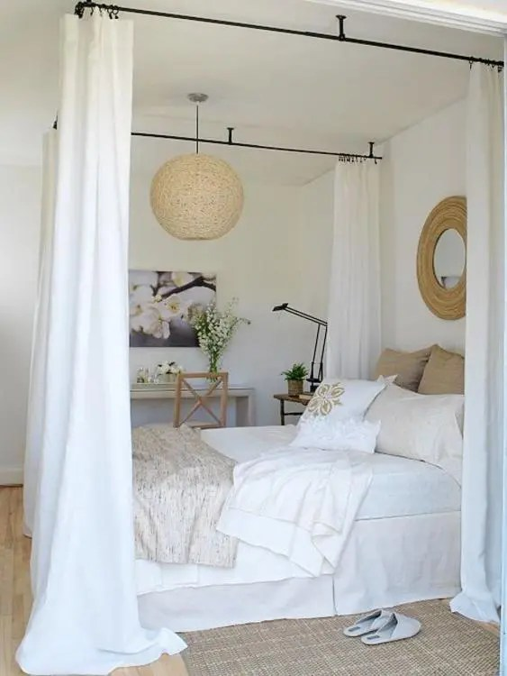 45 gorgeous bedroom canopy ideas for