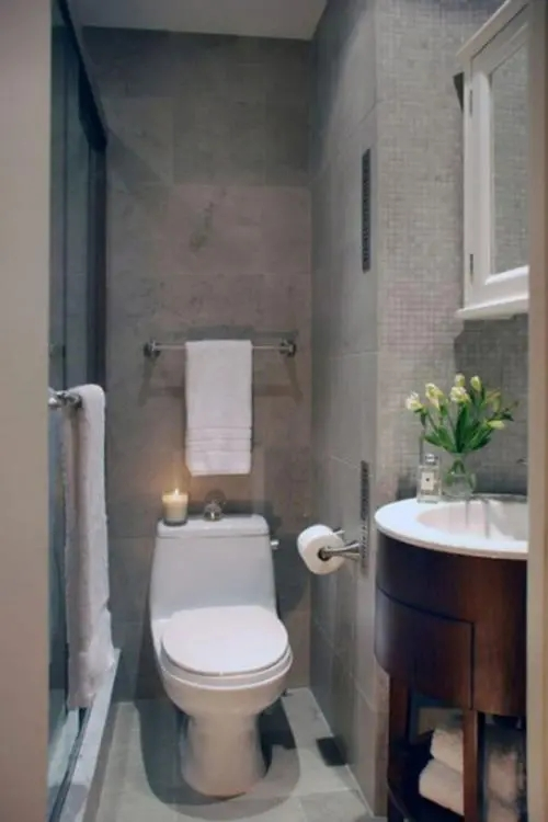 50 Bathroom Downstairs And Cloakroom Ideas For Small Spaces | Under Stair Toilet Design | Toilet Separate | Underground Washroom | Wet Room | Stepped Floor | Small