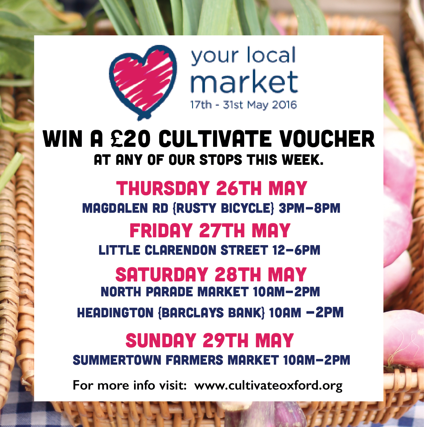 Competition : Love Your Local Market