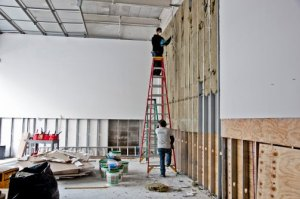 David Zwirner Gallery was five feet under and had to be completely gutted.