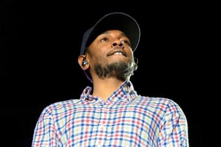 A photo of rapper Kendrick Lamar.